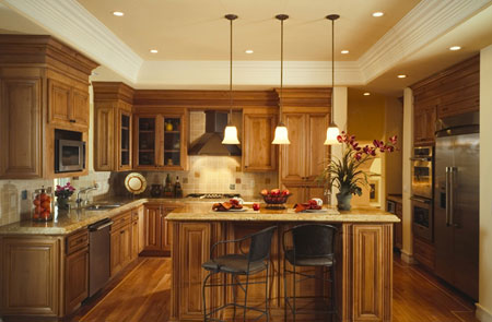 kitchen design ideas lighting photo - 5