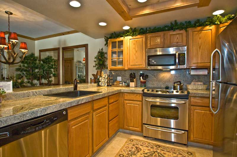 kitchen design ideas oak cabinets photo - 2