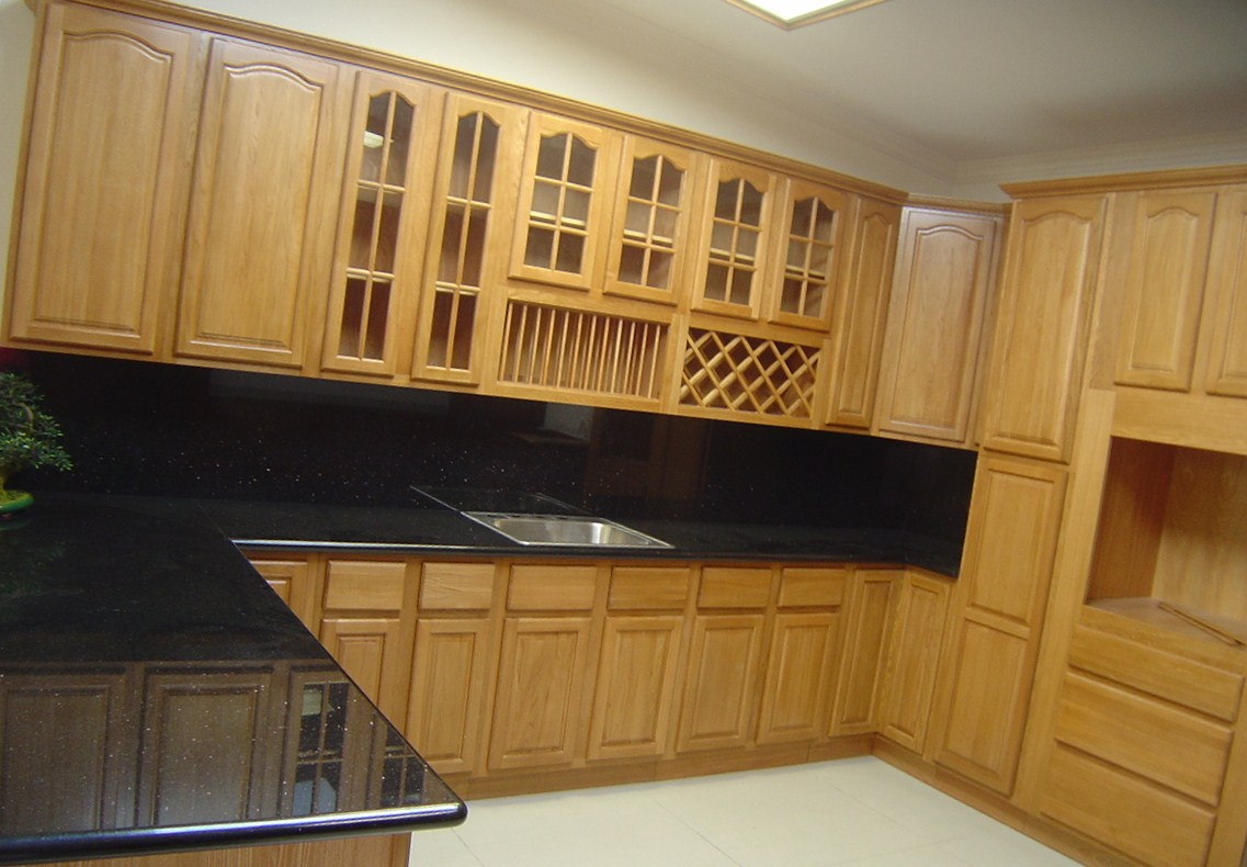 kitchen design ideas oak cabinets photo - 4