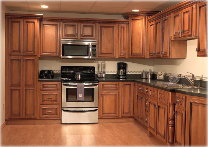 kitchen design ideas oak cabinets photo - 6