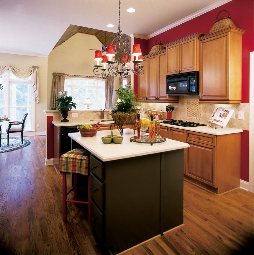 lovely Red Kitchen Decor Accessories #8: Red Kitchen Decor Accessories All About Decoration Ideas