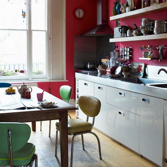 kitchen design ideas retro photo - 5