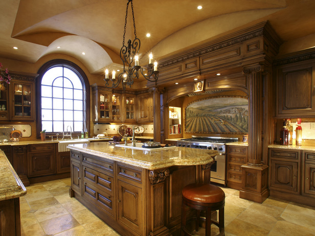 kitchen design ideas traditional photo - 6