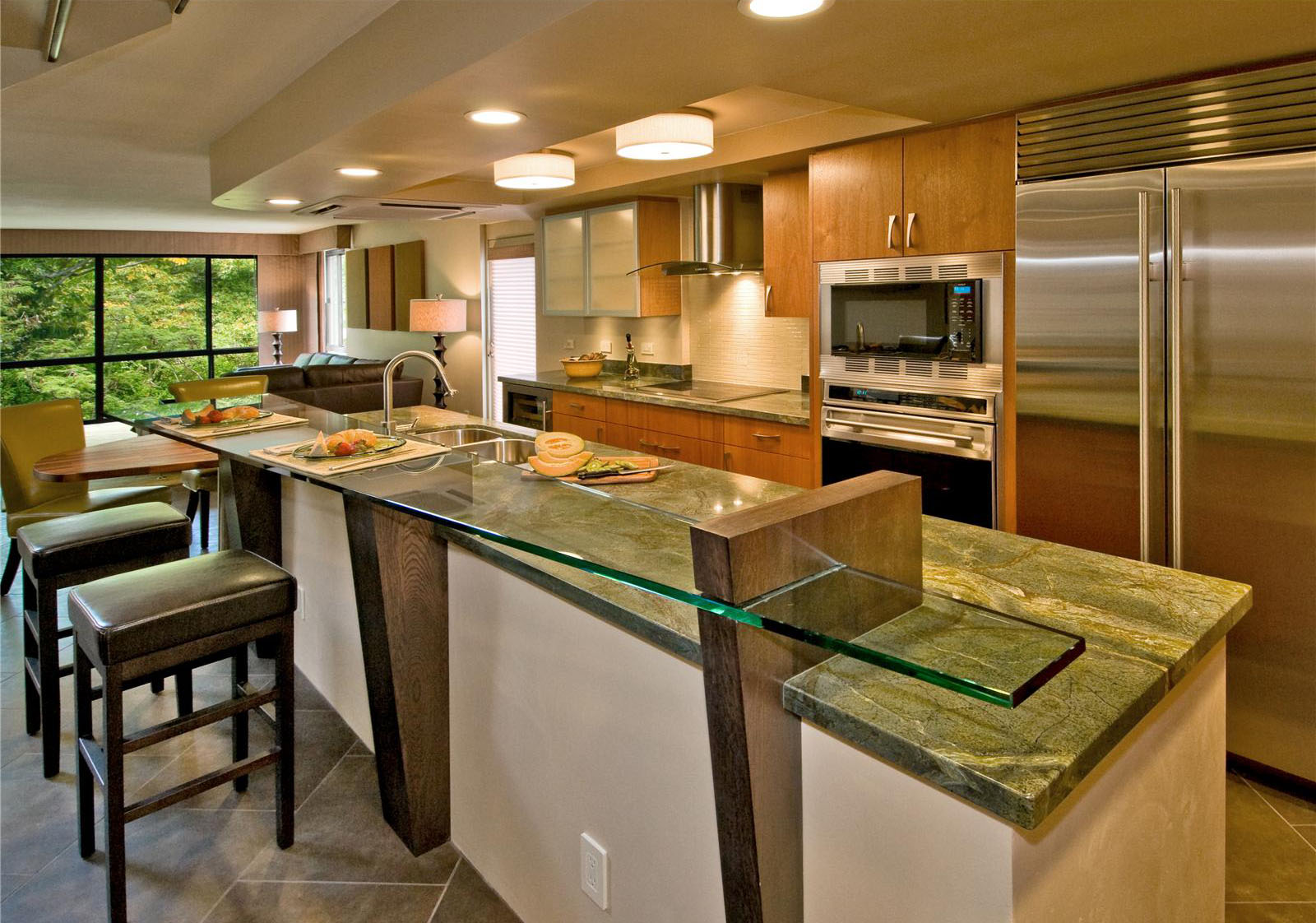kitchen design ideas with islands photo - 3