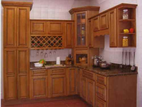 kitchen design ideas with maple cabinets photo - 1