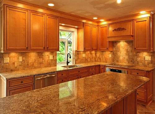 kitchen design ideas with maple cabinets photo - 2