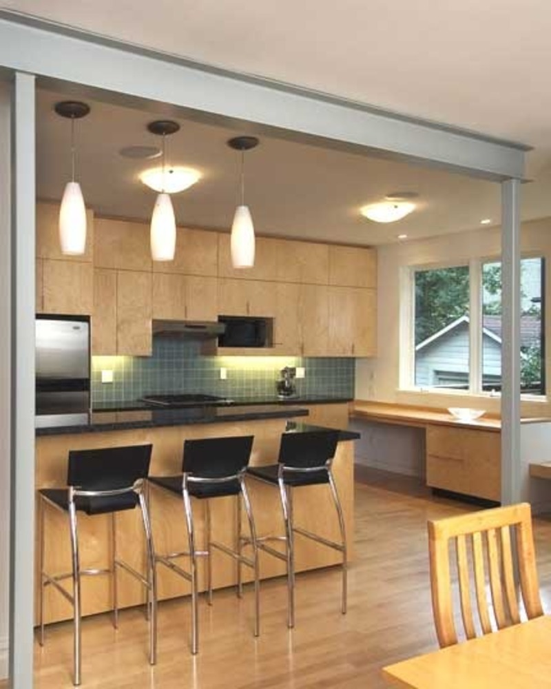 Kitchen dining room design ideas interior exterior doors for Kitchen dining hall design