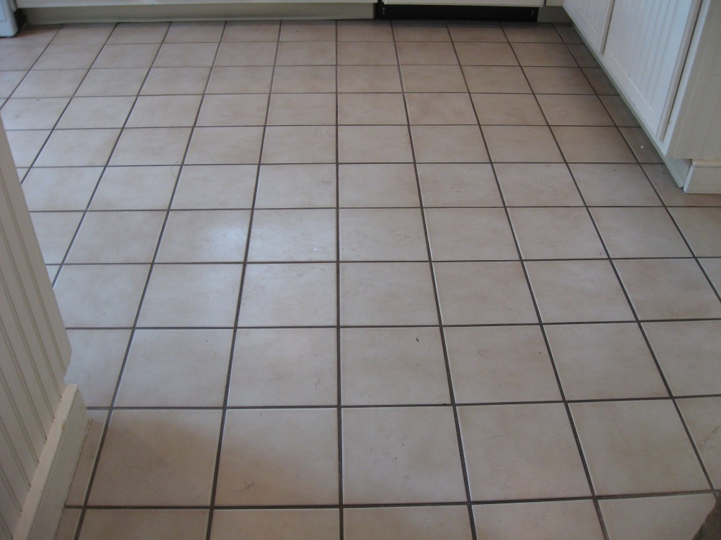 kitchen floor tile and grout cleaner photo - 1