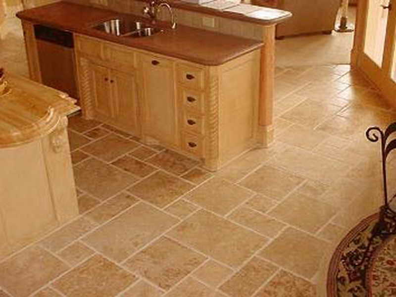 Kitchen Floor Tile Designs Photo   5