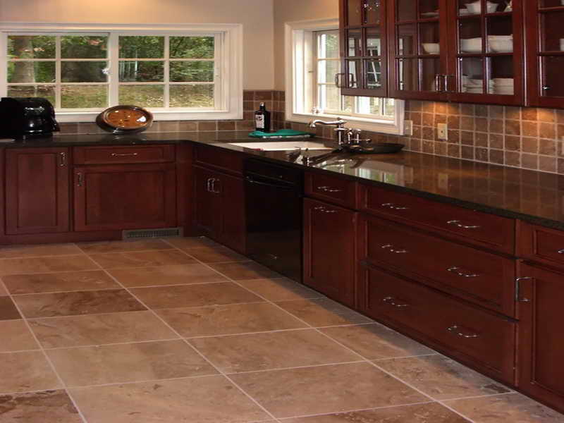 kitchen floor tile ideas photo - 2
