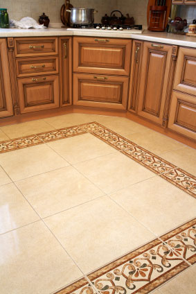 kitchen floor tile pattern ideas photo - 3