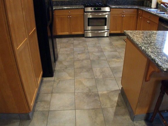 kitchen floor tile pattern ideas photo - 4