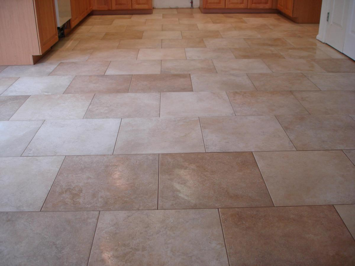 Kitchen Floor Tile Designs Traditional Home Traditional Kitchens
