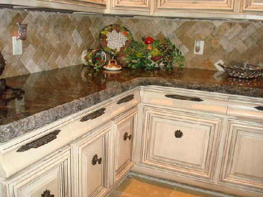 kitchen granite countertop design ideas photo - 1