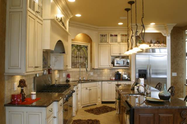 kitchen granite countertop design ideas photo - 2