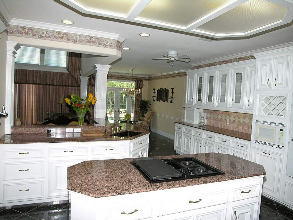 kitchen granite countertop design ideas photo - 6