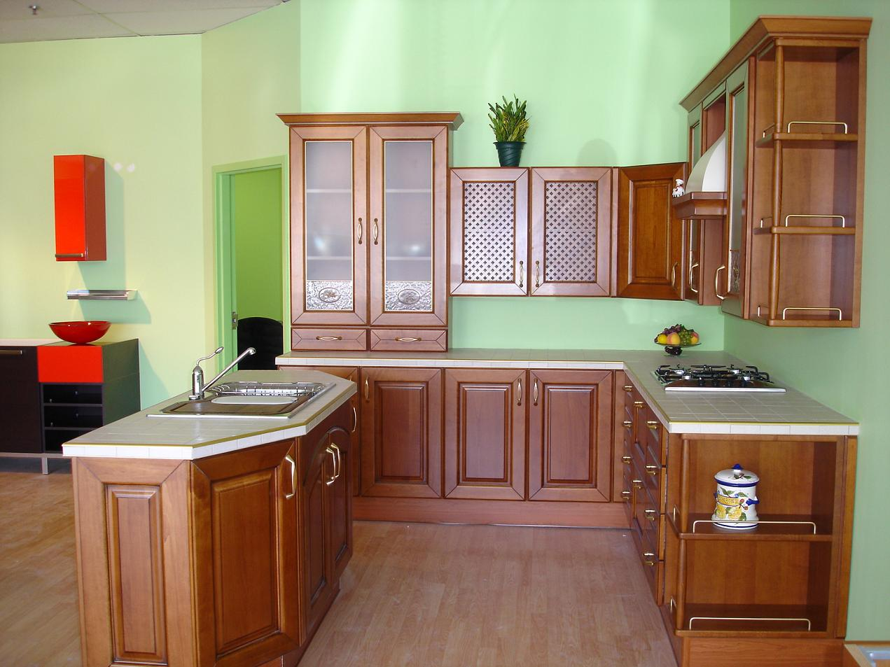 Kitchen Design Ideas With Oak Cabinets medium hardwood kitchen ideas pictures of kitchens traditional