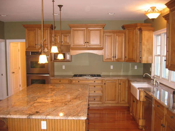 Modern Wood Kitchen Cabinets oak kitchen cabinets: pictures, ideas & tips from hgtv | hgtv with