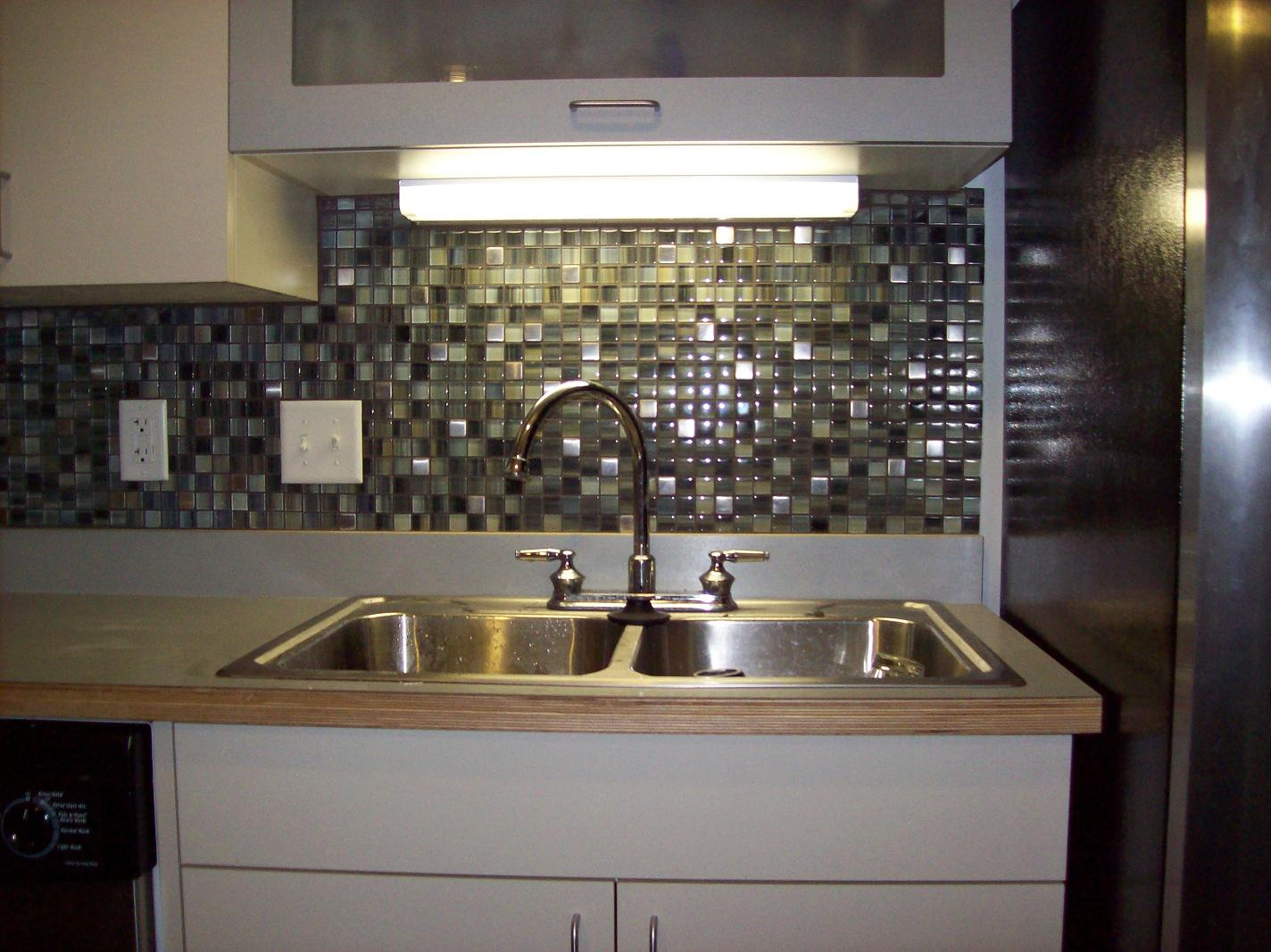 kitchen tile backsplash design ideas glass tile photo - 3