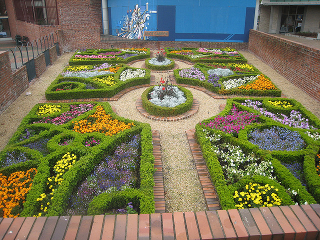knot garden design ideas photo - 3