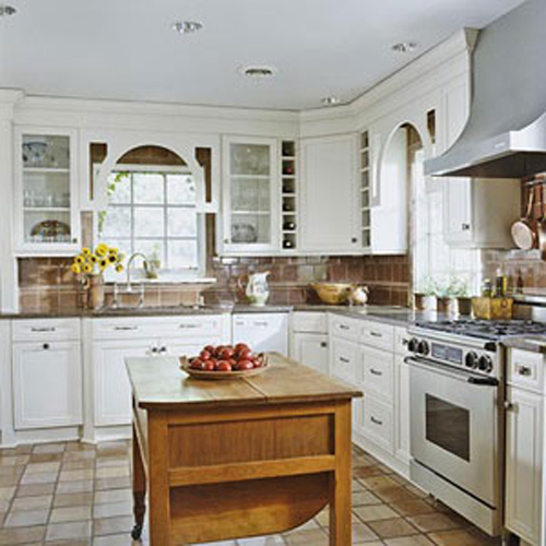 L Shaped Country Kitchen Designs Interior Exterior Doors