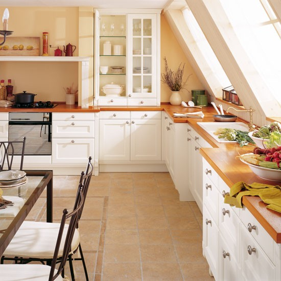 L Shaped Country Kitchen Designs Photo 3