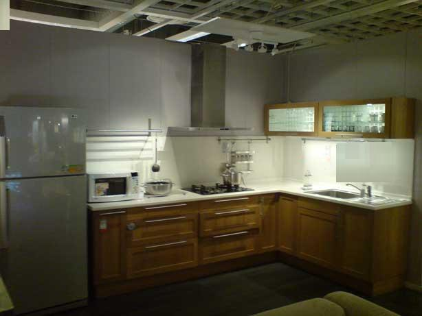 l shaped kitchen cabinets photo - 6