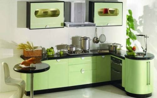 l shaped kitchen extensions photo - 1