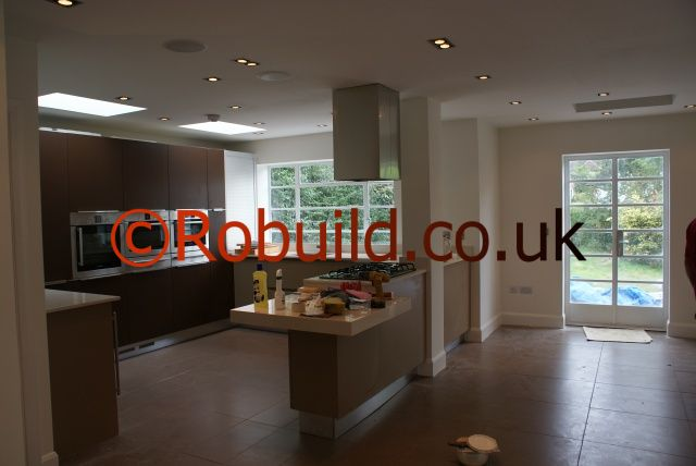 l shaped kitchen extensions photo - 4