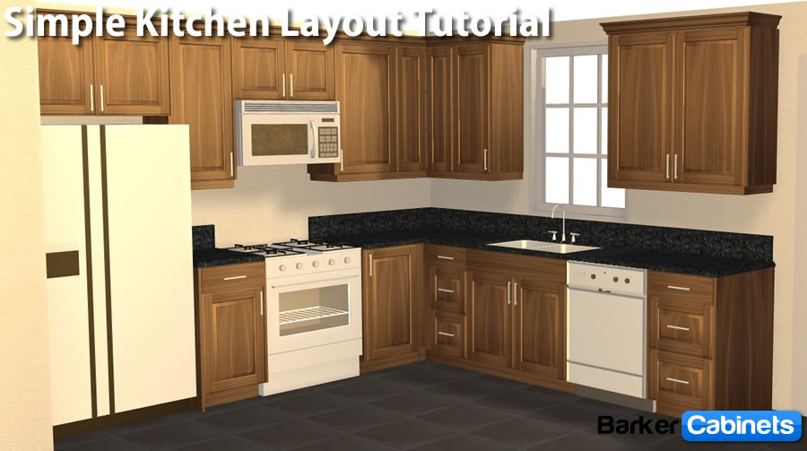 L Shaped Kitchen Layout Photo   5