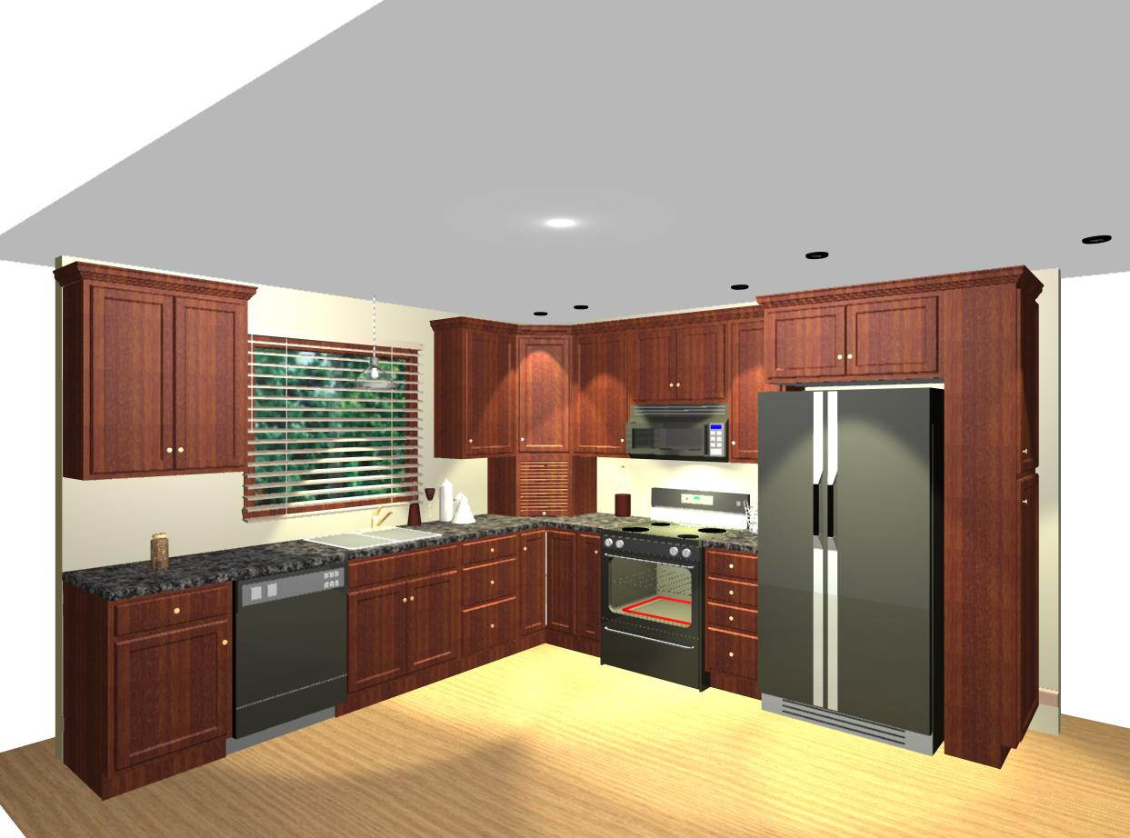l shaped kitchen layouts design photo - 1