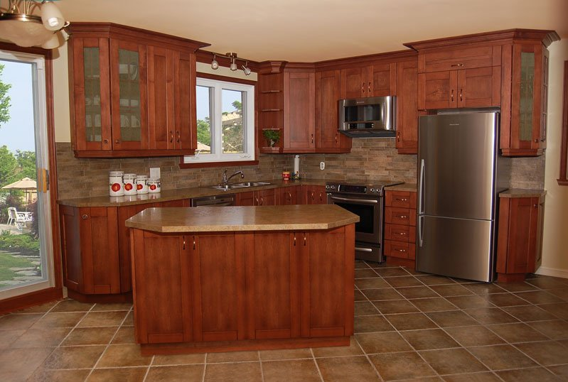 l shaped kitchen remodel ideas photo - 5