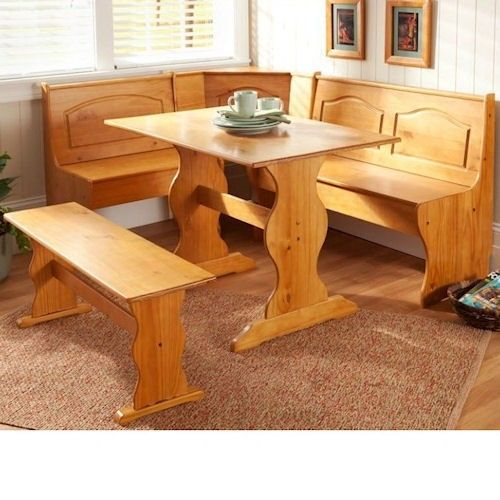 l shaped kitchen table photo - 6