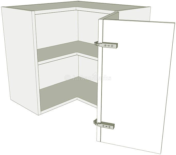 l shaped kitchen wall units photo - 2