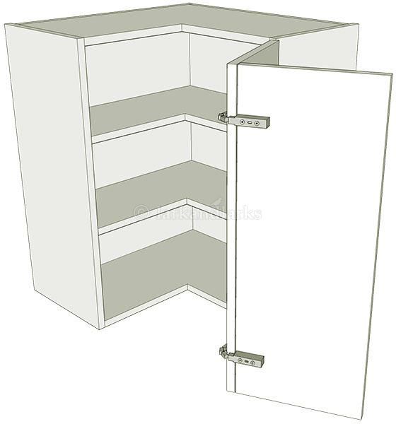 l shaped kitchen wall units photo - 3