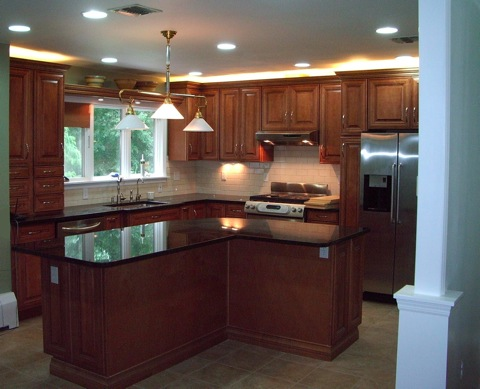 l shaped kitchen with island pictures photo - 5