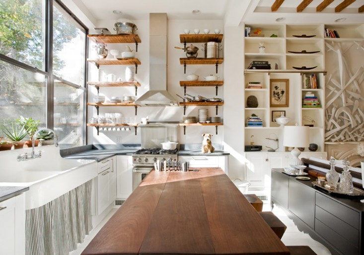 l shaped open kitchen photo - 2