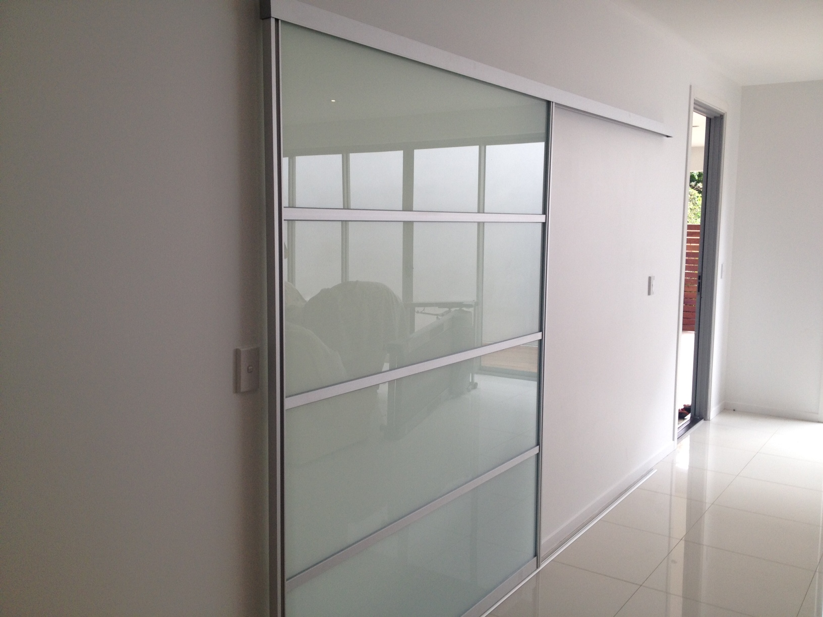 large interior sliding doors photo - 2
