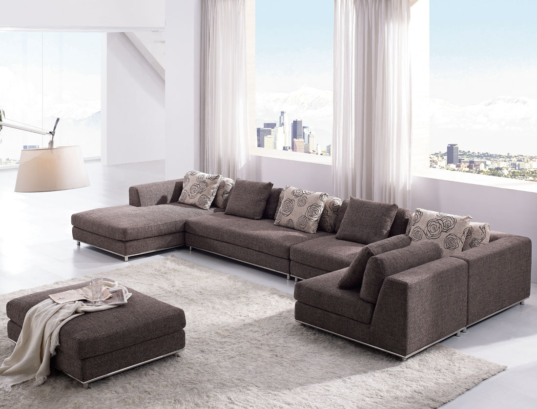 large modern sectional sofas photo - 2