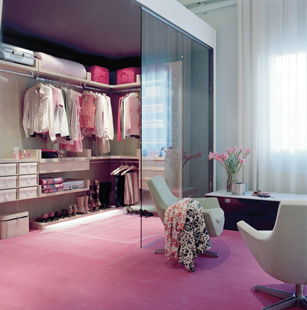 large walk in closet design photo - 5