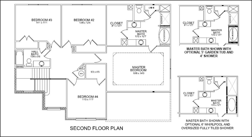 Large Walk In Closet House Plans Interior Exterior Doors