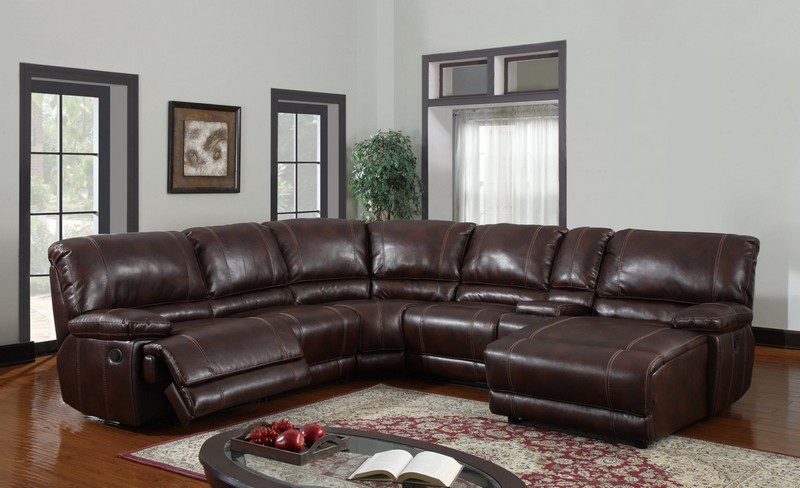 Leather couch sectional brown : brown leather sofa sectional - Sectionals, Sofas & Couches