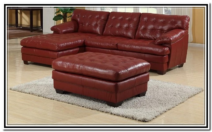 leather sectional sofa chaise recliner photo - 5