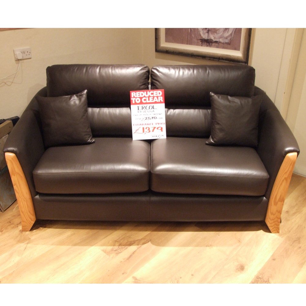 leather sectional sofa clearance photo - 2