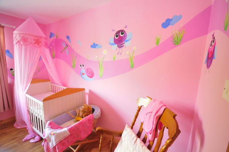 little girl room color ideas photo - 6
