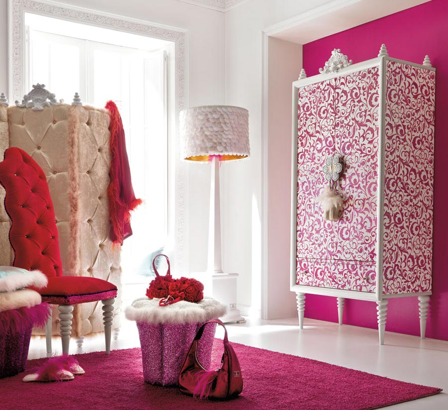 little girl room ideas pink photo - 2
