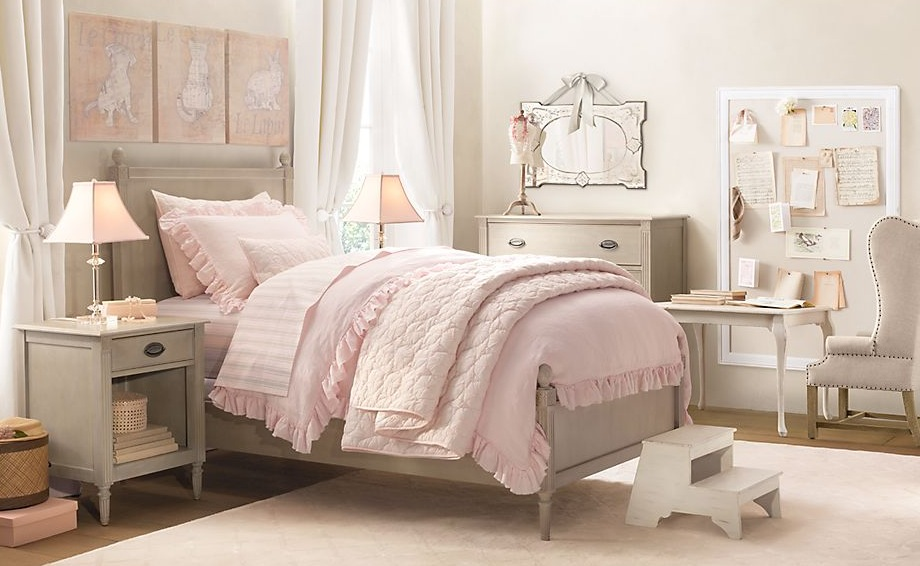 little girl room ideas pink photo - 4