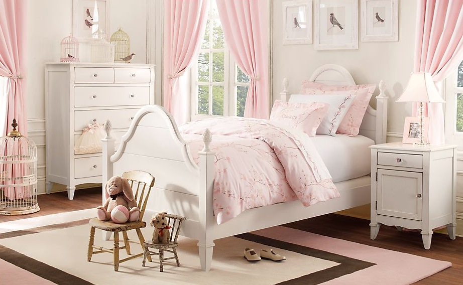 little girl room ideas pink photo - 6