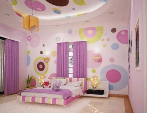 little girl room ideas purple photo - 1