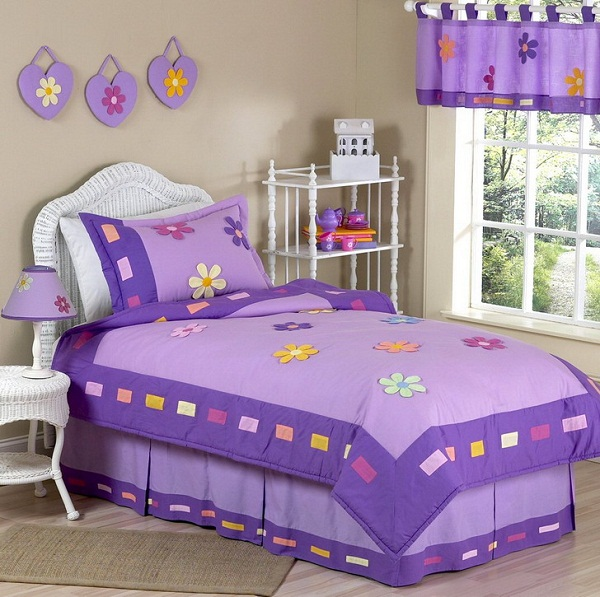 little girl room ideas purple photo - 4